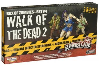 Zombicide: Walk of the Dead 2 Board Game (4 Set)