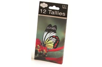(Bridge Tally) - Congress Butterfly Playing Cards