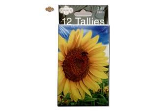 (Bridge Tally) - Congress Sunflower Playing Cards