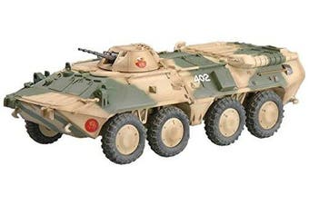 Easy Model Russian BTR-80 Apc Ussr Imperial Guard Troops Battle Situation Die Cast Military Land Vehicles