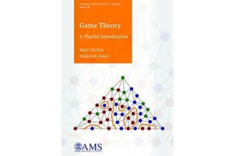 Game Theory: A Playful Introduction (Student Mathematical Library)