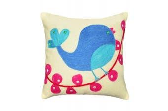 Be-you-tiful Home Tweety Bird Wool Felt Pillow, 30cm by 30cm