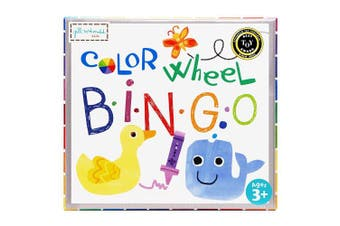 (Color Wheel Puzzle Bingo Game) - Gibby & Libby Colour Wheel Puzzle Bingo Game by C.R. Gibson