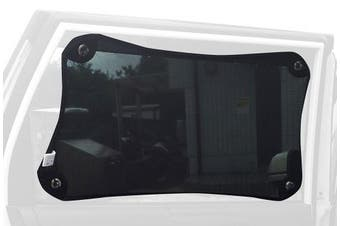 Dreambaby Stretch-To-Fit Adjustable Car Shade (33 x 46cm up to 46 x 69cm) Black
