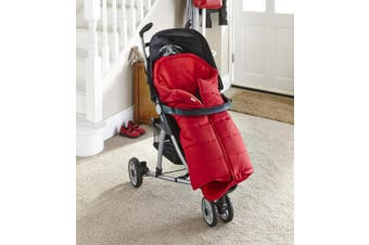 (Red) - Clair de Lune Cocoon Footmuff (Red)