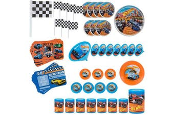 American Greetings Hot Wheels Party Favour Value Pack