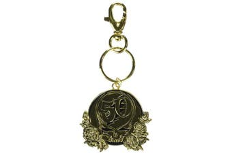 C & D Visionary Grateful Dead 50th Anniversary Metal Keychain