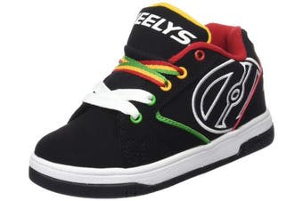 (7 UK, multi (Black/Reggae)) - Heelys Boys'' Pro-tec Helmet Fitness Shoes