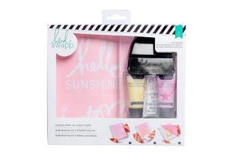 American Crafts 8 Piece Heidi Swap Mixed Media Hello Sunshine Screen Kits