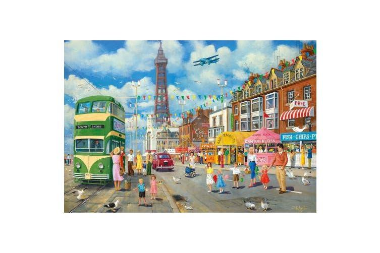 Gibsons Blackpool Promenade Jigsaw Puzzle (500-Piece)