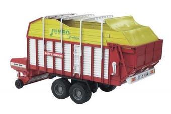 Forage trailer Pöttinger Jumbo 6600 Profiline