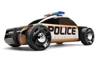 Automoblox S9 Police Car, Black