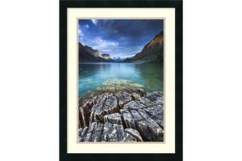 Framed Art Print, 'St. Mary Lake Glacier National Park' by Jason Savage: Outer Size 50cm x 70cm
