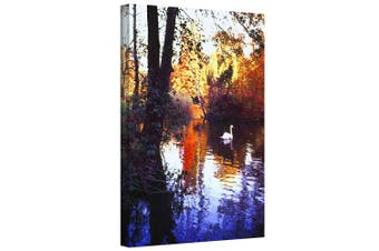 (18x24) - ArtWall Dean Uhlinger 'Hamm Park' Gallery Wrapped Canvas Artwork, 46cm by 60cm