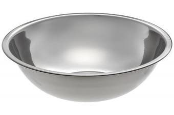(3.8l) - Adcraft SBL-4D 2.6l Capacity, 25cm - 1.3cm OD x 7.6cm - 1.3cm Depth, Stainless Steel Mixing Bowl with Mirror Finish