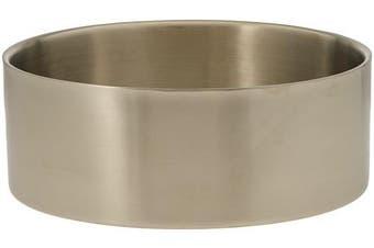 American Metalcraft DWB14 Bowls, 36cm Length x 36cm Width, Silver
