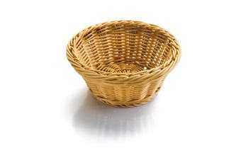 (26 x 26 x 8 cm, Natural) - Lacor Bread Basket Round 26 x 26 x 8 cm natural