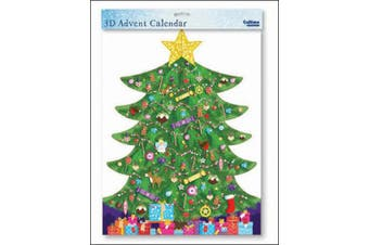 Extra Large Advent Calendar - Around The Tree - a Special 3D Stand-Up Christmas Advent Calendar