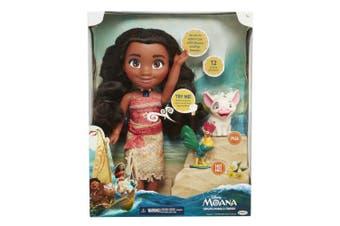 (Disney Moana Singing Adventure Doll with Friends) - Disney Moana Singing Adventure Doll with Friends