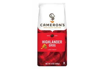 (Highlander Grog, 350ml) - Cameron's Whole Bean Coffee, Highlander Grog, 350ml (packaging may vary)