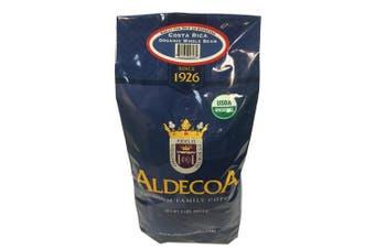 (Costa Rica, 950ml) - Aldecoa Whole Bean Organic Coffee, Costa Rica, 950ml