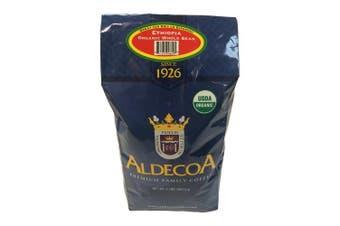 (Ethiopia, 950ml) - Aldecoa Whole Bean Organic Coffee, Ethiopia, 950ml