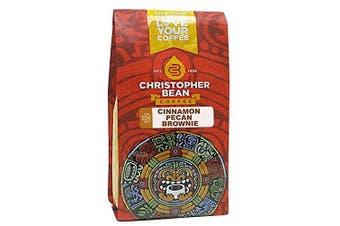 Christopher Bean Coffee Flavoured Ground Coffee, Cinnamon Pecan Brownie, 350ml