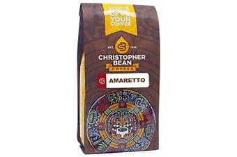 Christopher Bean Coffee Flavoured Whole Bean Coffee, Amaretto, 350ml