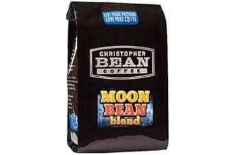 Christopher Bean Coffee Ground Coffee, Moon Bean Blend French Roast, 350ml