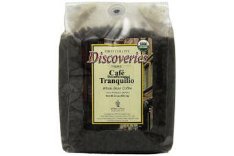 First Colony Organic Whole Bean Decaf Coffee, Caf. Tranquillo, 710ml