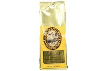 Aloha Island Coffee Espresso Organic Kona Coffee Blend, 240ml Ground, 240mls