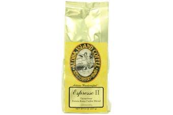 Aloha Island Coffee Company Espresso II, Luxurious Estate Kona Coffee Blend, 240ml Bag
