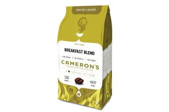 (Breakfast Blend, 950ml) - Cameron's Whole Bean Coffee, Breakfast Blend, 950ml
