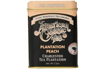 American Classic Loose Tea, Plantation Peach Tin, 70ml