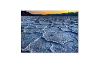 (36cm  by 48cm ) - Trademark Fine Art Badwater by Pierre Leclerc Canvas Wall Artwork, 36cm by 48cm