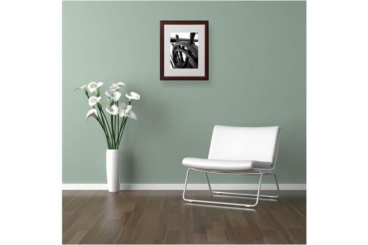 (11x14) - Trademark Fine Art Masterful Guidance by Monica Fleet, Wood Frame, 28cm by 36cm