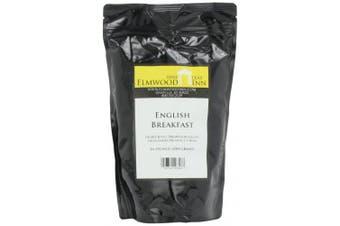 Elmwood Inn Fine Teas, English Breakfast Keemun Black Tea, 470ml Pouch