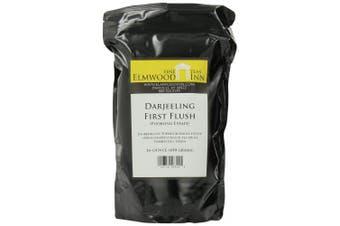 Elmwood Inn Fine Teas, Darjeeling First Flush SFTGFOP Organic Fair Trade Black Tea, 470ml Pouch