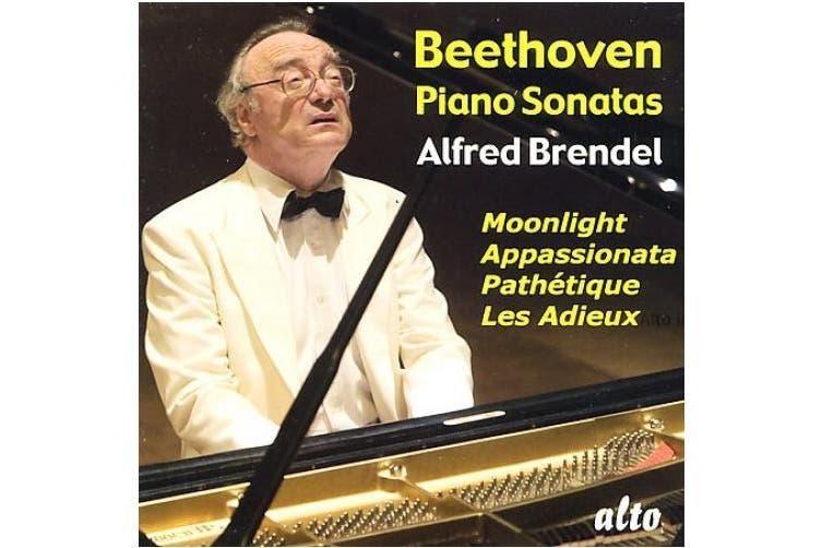 "Beethoven: Piano Sonatas ""Moonlight,"" ""Path'tique,"" ""Appassionata,"" ""Les Adieux"""