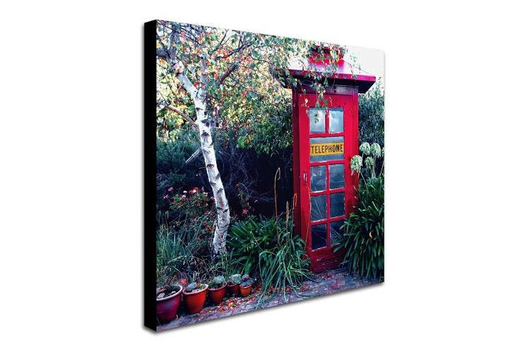 (36cm  by 36cm ) - Trademark Fine Art Red in The Garden Artwork by Beata Czyzowska Young, 36cm by 36cm