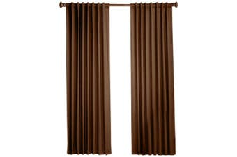 (130cm  by 160cm , Chocolate) - 1888 Mills Devon 130cm -by-160cm Single Foam Backed Panel, Brown