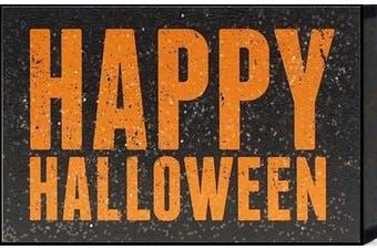 "Artistic Reflections ""Happy Halloween"" Framed Art"