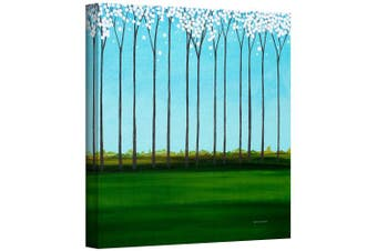 (46cm  by 46cm ) - Art Wall 'Happy Forest' Gallery Wrapped Canvas Artwork by Herb Dickinson, 46cm by 46cm