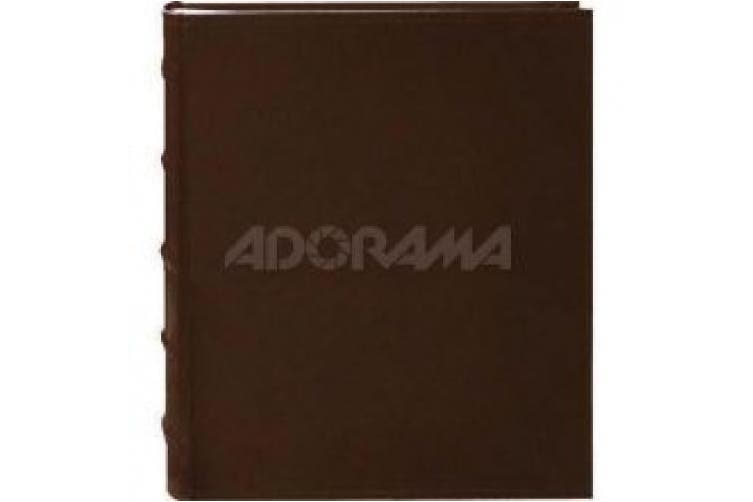 (Brown) - Pioneer Photo Albums 200-Pocket European Bonded Leather Photo Album for 10cm by 15cm Prints, Brown