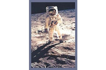 "Buyenlarge 0-587-10711-1-P1218 ""Apollo 11: Man on the Moon"" Paper Poster, 30cm x 46cm"