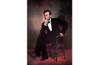 """Buyenlarge Abraham Lincoln - 30cm X 46cm """" Paper Poster. (Edition 9393),"""