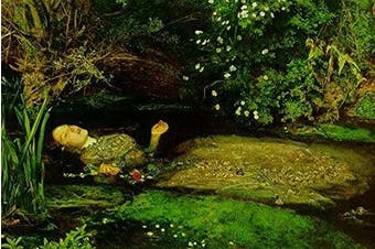 """Buyenlarge Ophelia - 30cm X 46cm """" Paper Poster. (Edition 9003),"""