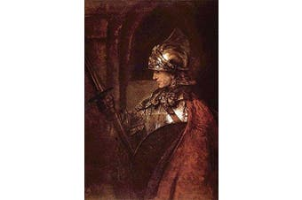 """Buyenlarge 0-587-26457-8-P1218 """"Man with Arms (Alexander The Great)"""" Paper Poster, 30cm x 46cm"""