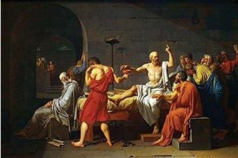 "Buyenlarge ""Death of Socrates"" Paper Poster, 30cm x 46cm"