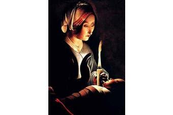"Buyenlarge 0-587-29032-3-P1218 ""Saint Anna with The Christ Child by La Tour"" Paper Poster, 30cm x 46cm"
